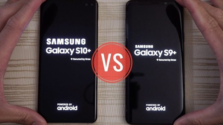 Samsung Galaxy S10+ vs Samsung Galaxy S9+ Upgrade Phone