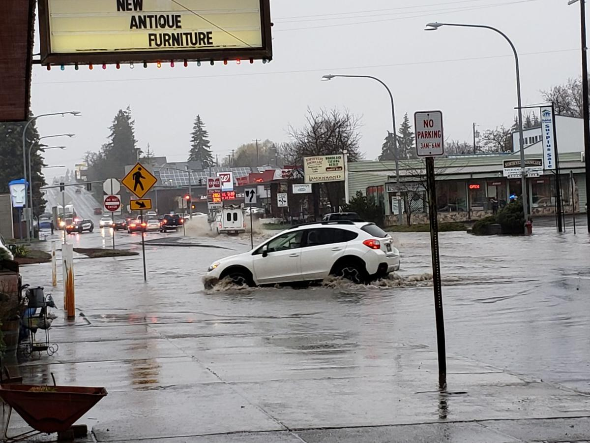 Heavy Flood drenched Palouse cities and Moscow!