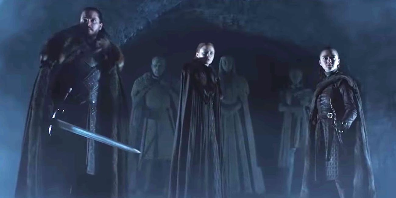 The crypts all unsafe in the Game of Thrones
