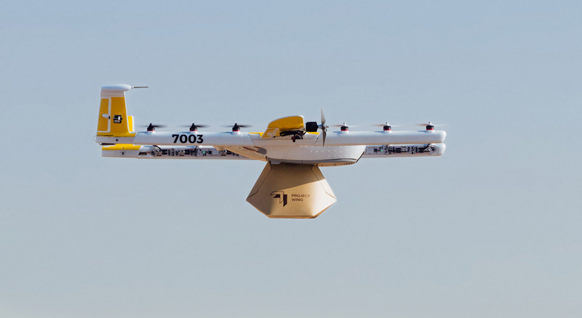 Wing drones of Google to be publicly delivered in Australia