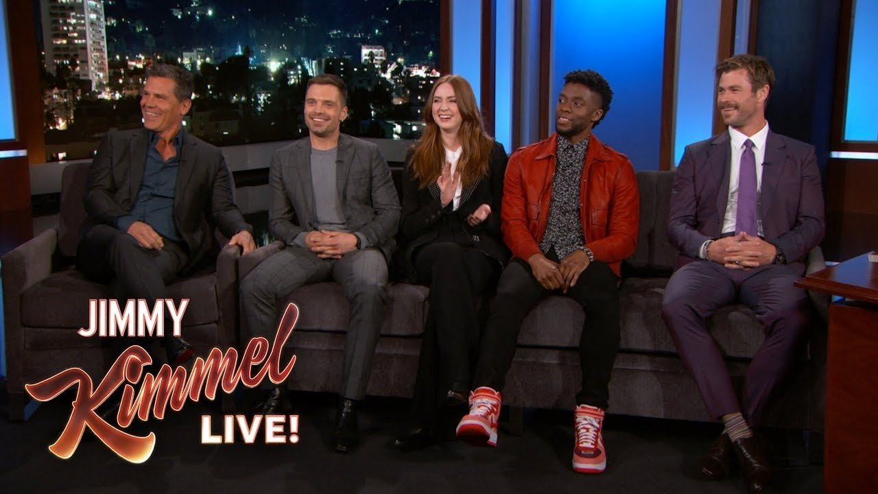 Avengers: Endgame cast revealed big SPOILERS during the Jimmy Kimmel Live Show!
