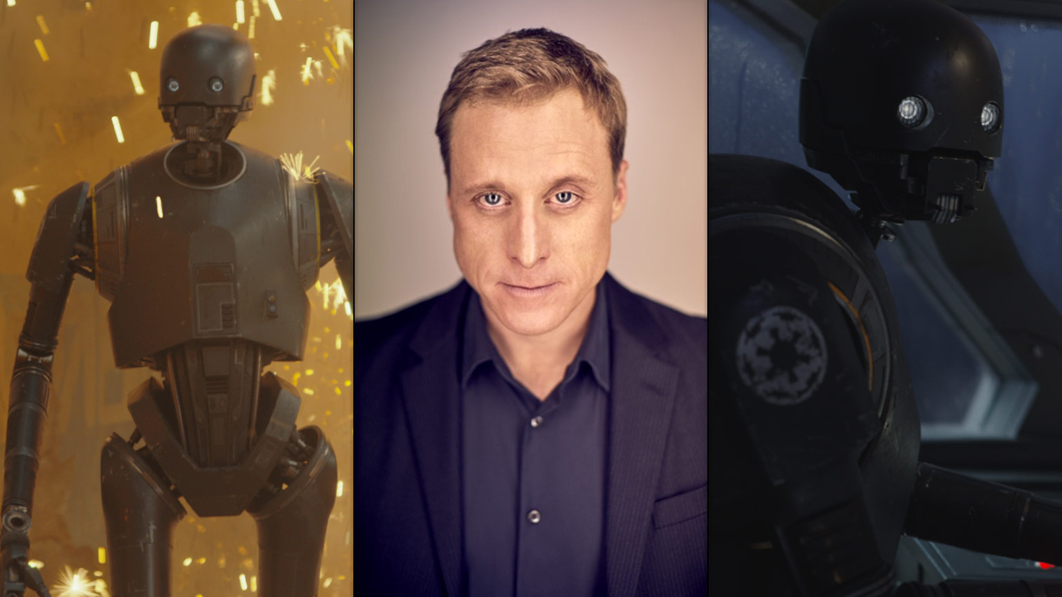 Disney+ will bring a series based on Star Wars: Rogue One to life with Alan Tudyk