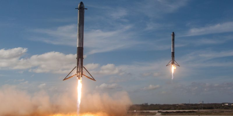 60 Internet Satellites launched into the outer-space orbit by SpaceX-1