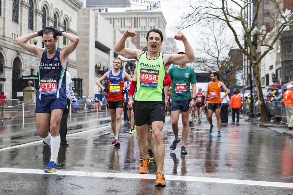 Boston Marathon 2019: Supernatural actors Genevieve and Jared received fan support