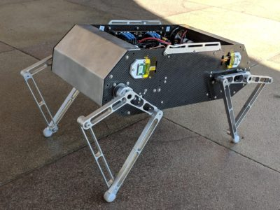 Standford students have come up with a DIY robot called Doggo