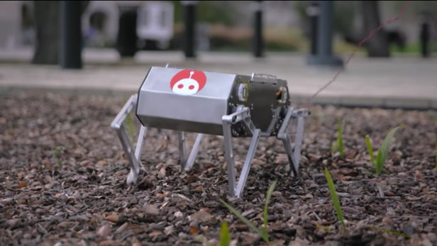 Standford students have come up with a DIY robot called Doggo-1
