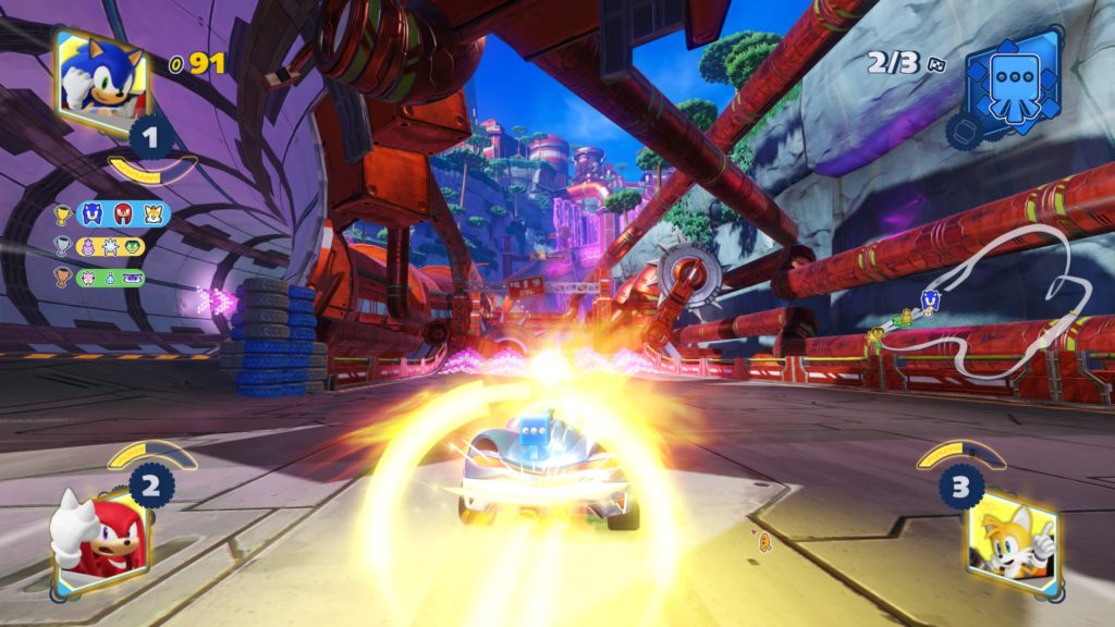 "Can ""Team Sonic Racing"" in Switch surpass PS4"