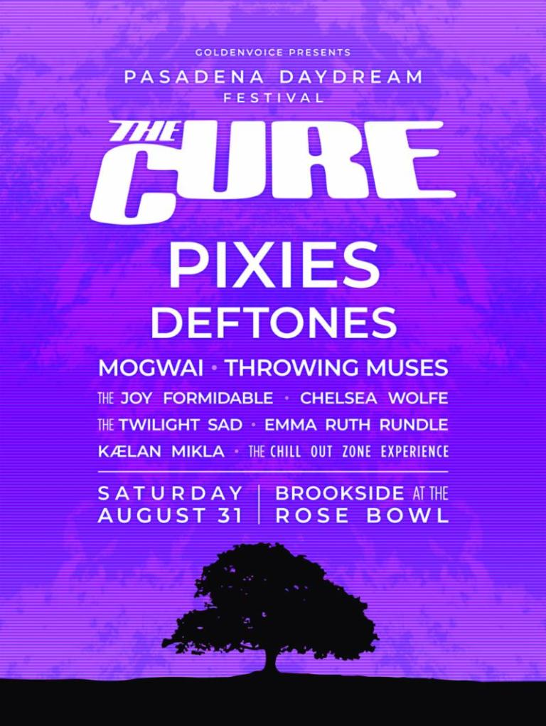 The Cure to host their own fest in US