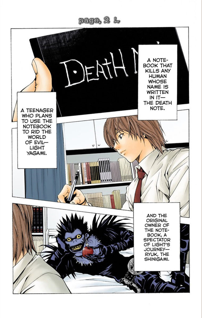 The New Chapter of Death Note
