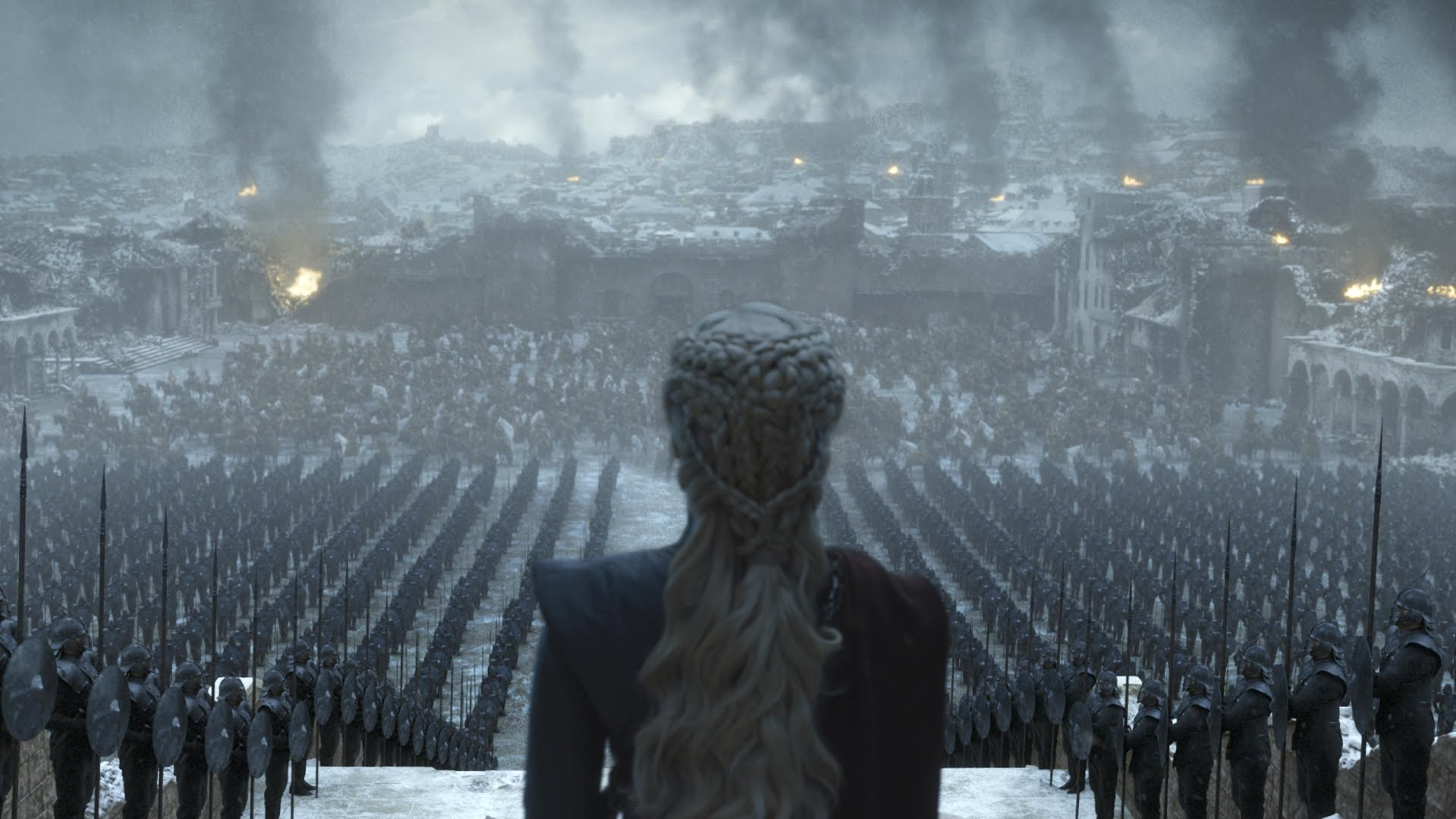 HBO just released glimpses of finale episode of Game of Thrones series.