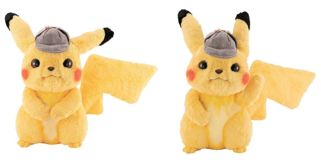 Detective Pikachu Plushie is now available online