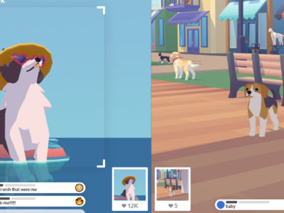 Pupperazzi game will allow players to snap photos of dogs