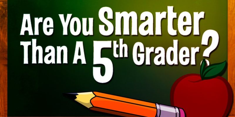 Nickelodeon to Come up with the Generation's Favourite show Are You Smarter Than A 5th Grader