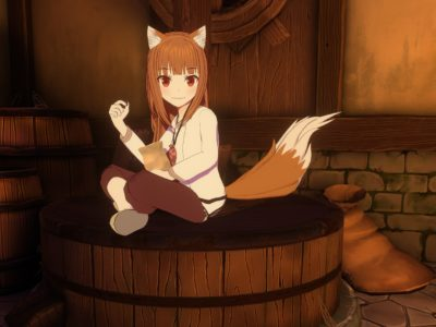 Headpat and other interactive features to be introduced in Spice & Wolf VR