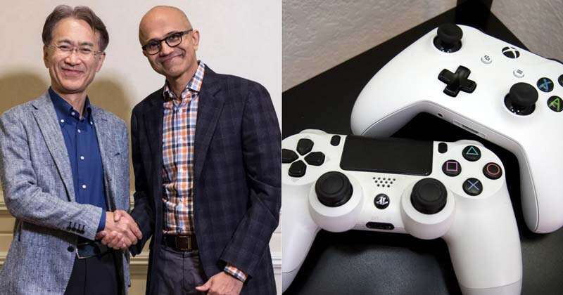 Microsoft and Sony join hands for Handsome experience for Gaming World