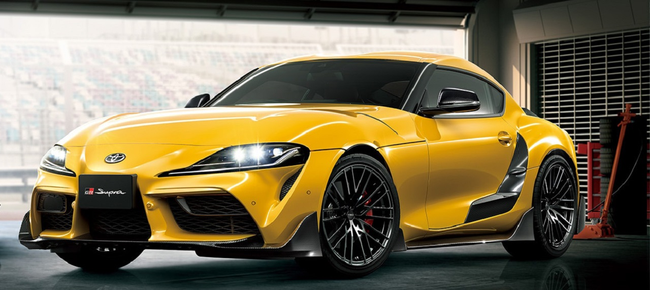 Toyota Supra is back and is underpinned by BMW