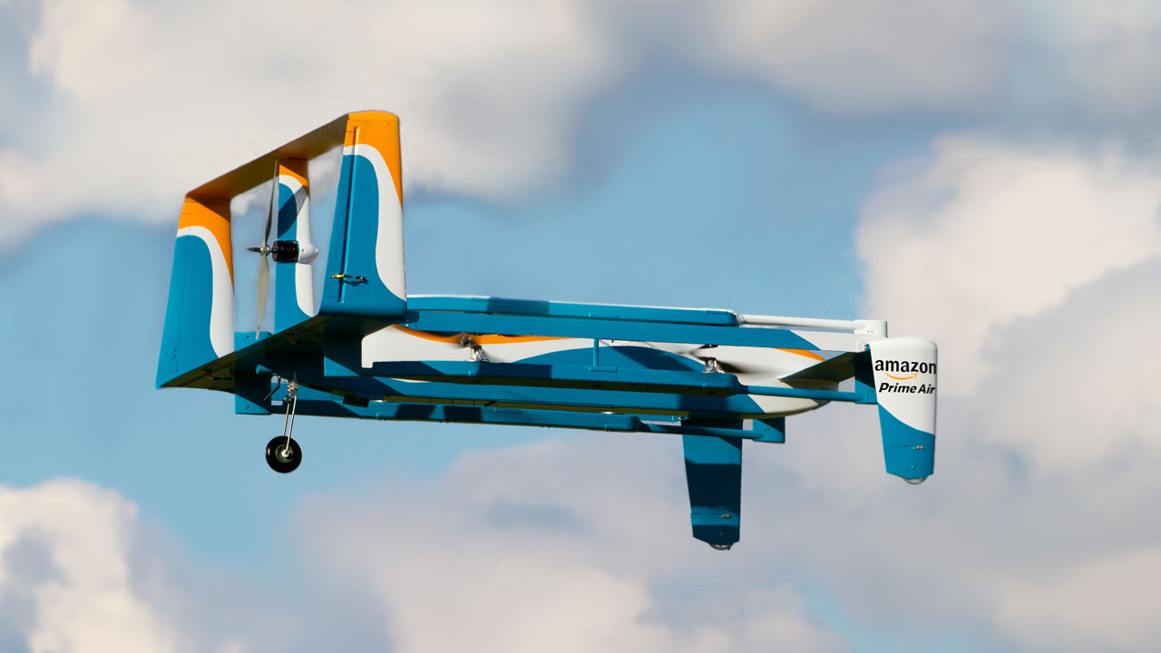 Amazon Prime Air introduces drone to deliver packages within months