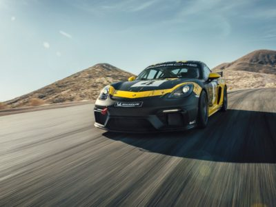 Porsche 718 Cayman GT4 Clubsport MR recieves upgrades from Manthey-Racing