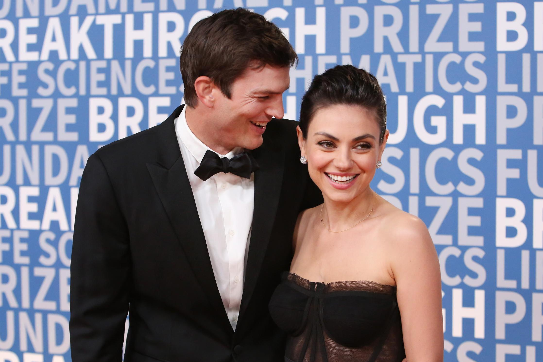 Austin Kutcher along with his wife, Mila Kunis made a video in which they mocked about the news and posted in on Instagram.