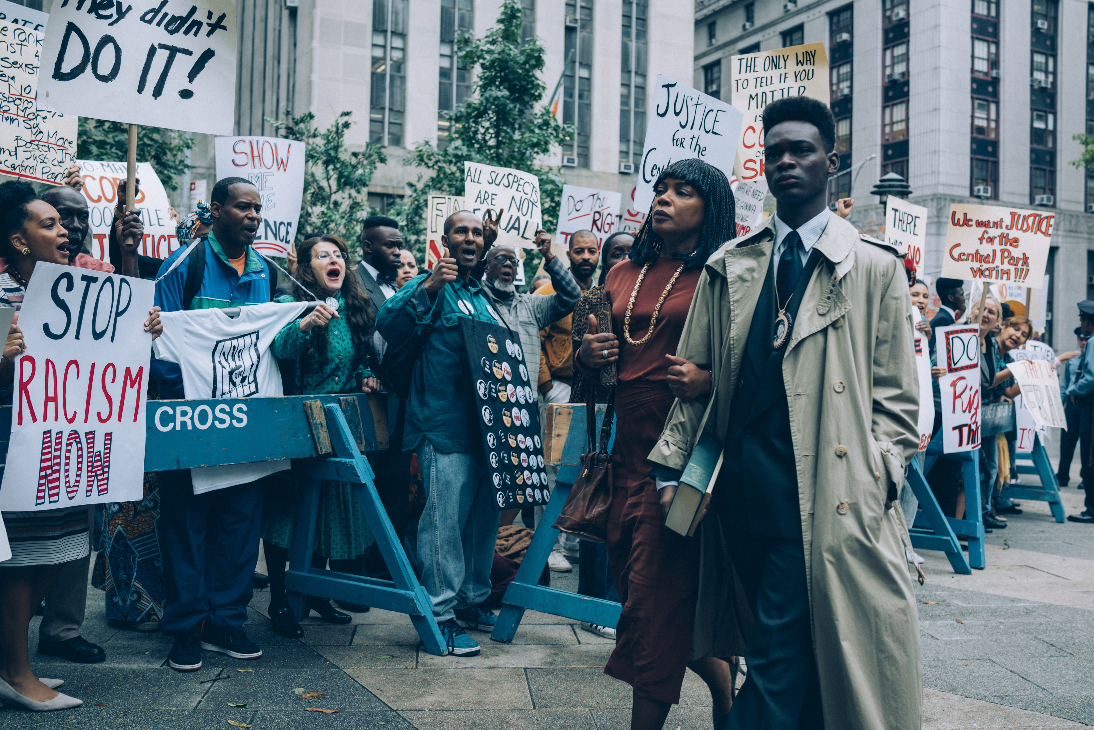 """Central Park 5 miniseries """"When They See Us"""" currently streaming on Netflix"""
