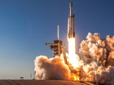 Falcon Heavy's first night-time launch is scheduled on 24th June