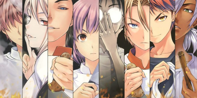 Food Wars might be coming back with its 4th season this fall