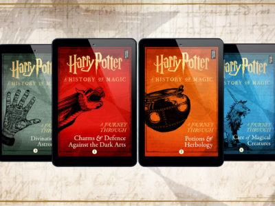 Four new Harry Potter e-books soon to hit the markets