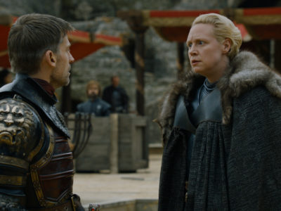 Game of Thrones Jaime and Brienne
