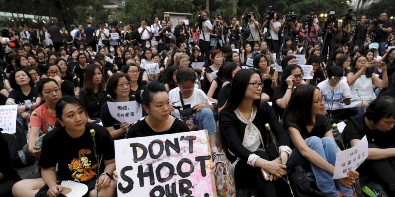Hong Kong's streets were once again filled with determined protesters who refused to accept Government's apology