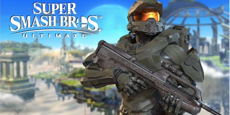 Master Chief is now added in Super Smash Bros. Ultimate Mod