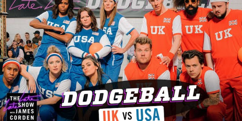 Michelle Obama and James Corden indulged in a dodgeball game challenge: know the result here
