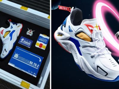Official Gundam sneakers are now available for all