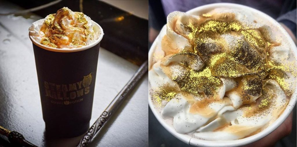 Steamy Hallows the Harry Potter themed cafe in New York is a new must-stop for Potterheads
