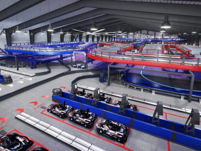 New Wrentham Go-Kart Track Is Largest Of Its Kind In The World
