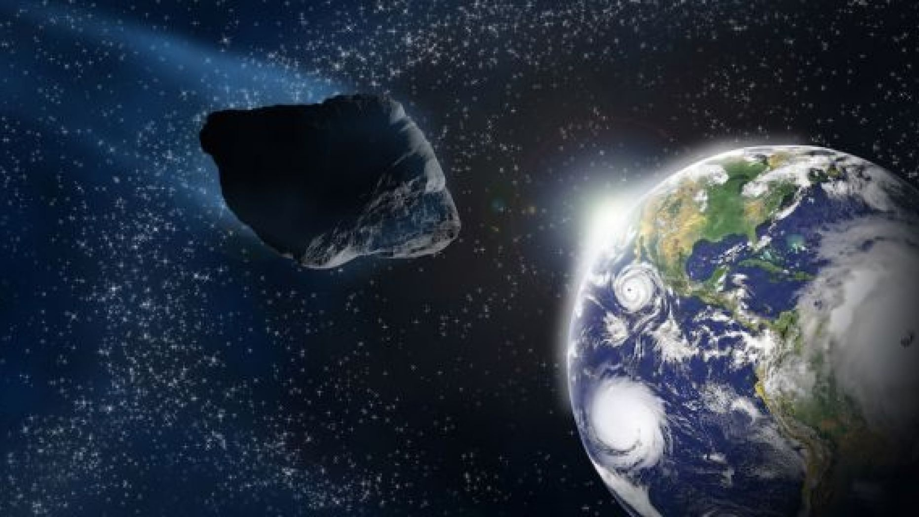 The University of Hawaii detected an asteroid before it could strike the Earth