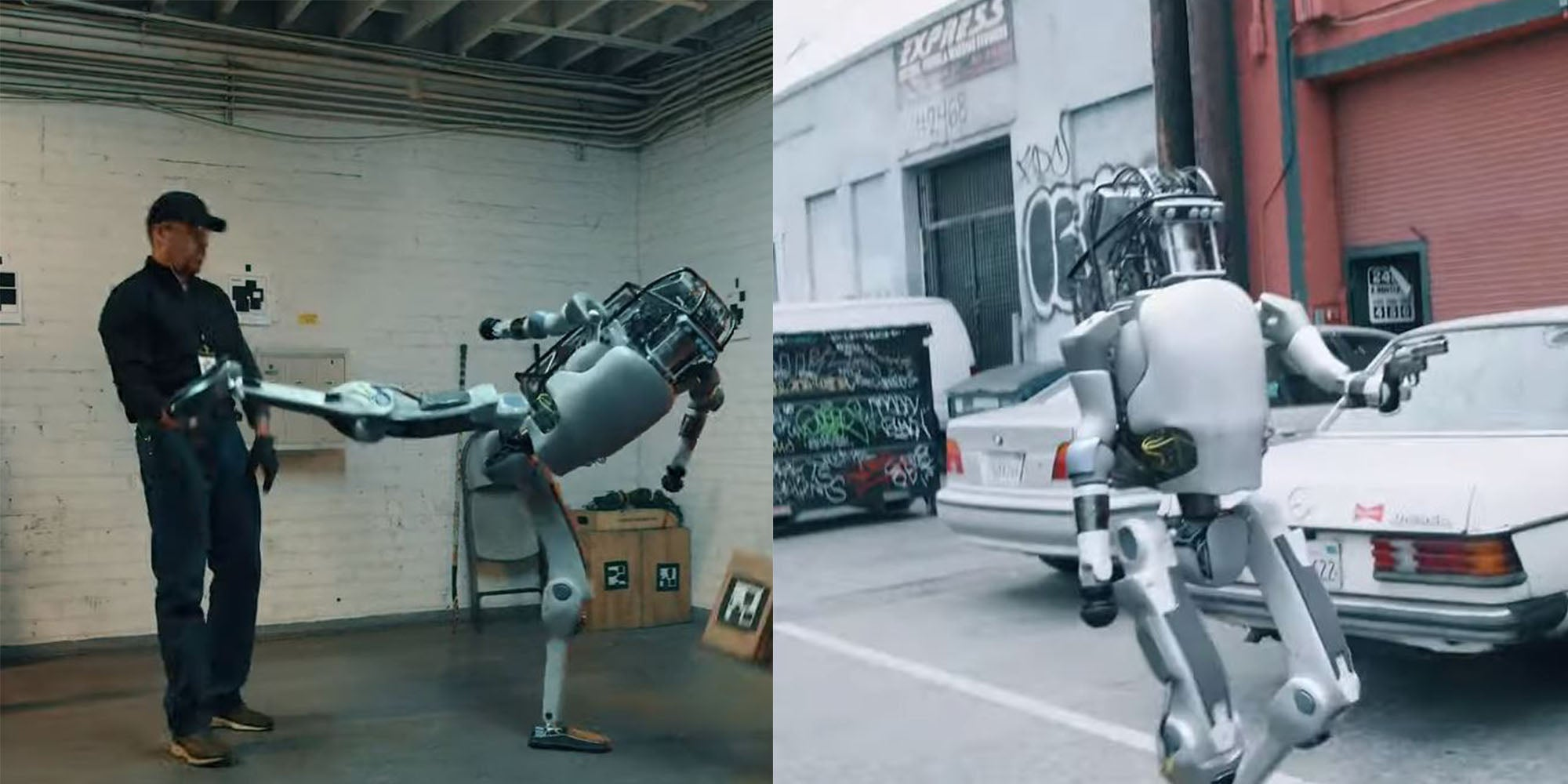 FAKE Video of Boston Dynamics Robot fighting against humans goes viral