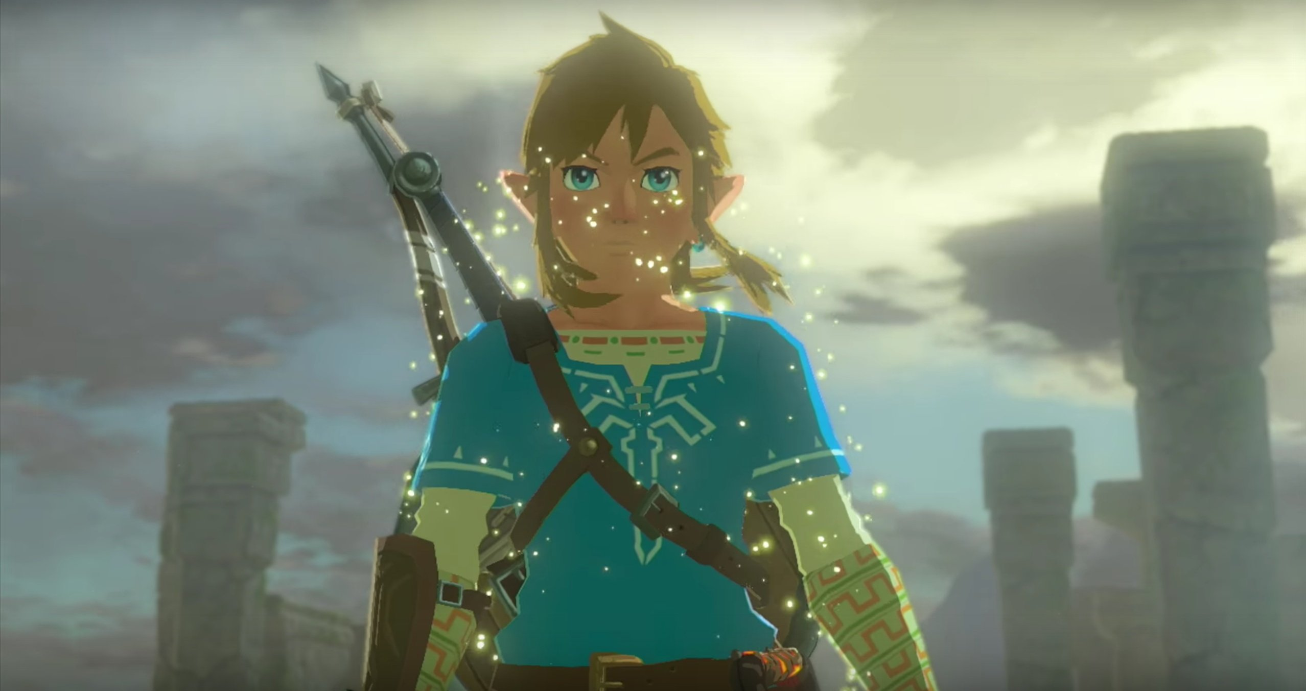 Glitch in The Legend of Zelda: lets you see underwater