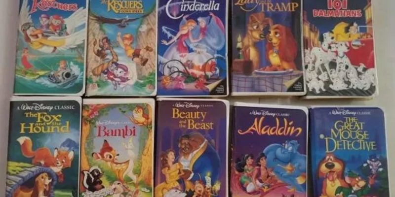 Old Disney VHS tapes are selling for thousands online - how valuable are yours?