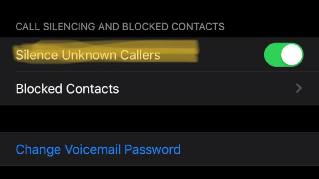 Silence unknown caller is added in the new Apple iOS 13