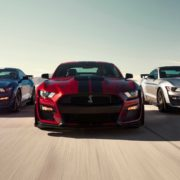 Ford Mustang Shelby GT500 carries a 760 horsepower engine under the hood