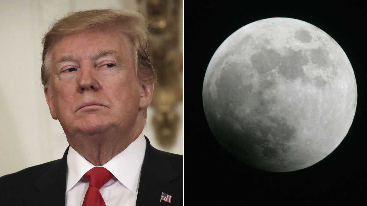 Trump says NASA should stop talking about going back to the Moon