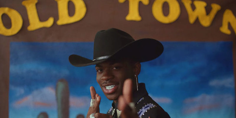 Lil Nas X in 'Old Town Road' song video