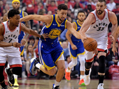 NBA Finals : Warriors Klay Thompson suffers hamstring injury