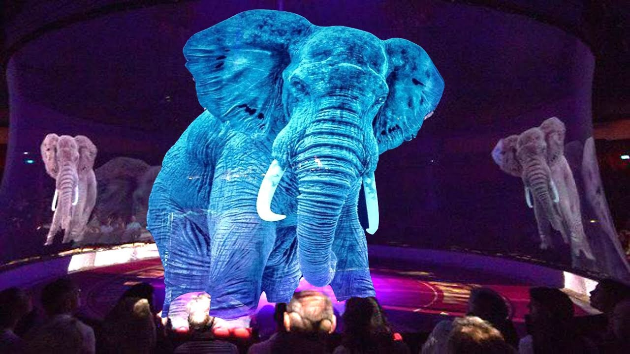German Circus Uses Holograms Instead Of Live Animals For A Cruelty-Free Experience