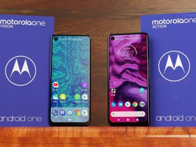 Motorola one series leak, punch hole display with triple camera