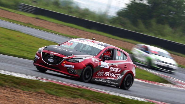 Mazda 3 all ready to join TCR spec format in 2020