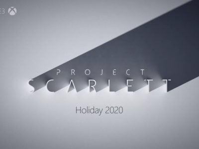 Project Scarlett from Microsoft's Xbox Console out during E3 2019