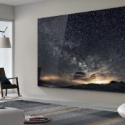 Samsung 292 inches TV is big enough to cover your wall