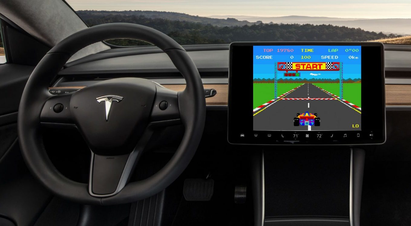 Now Tesla Racing game has something new