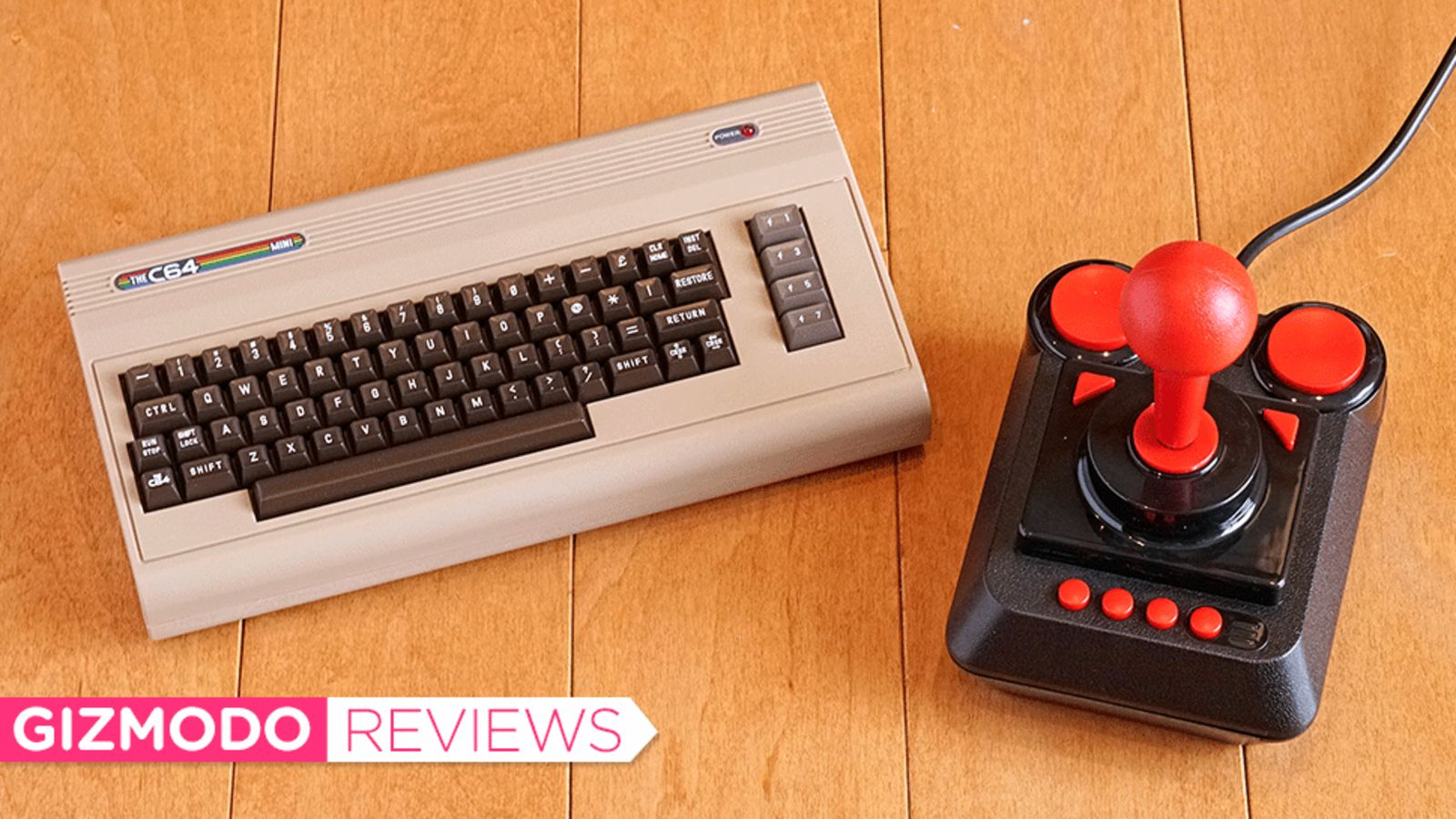 "A Commodore 64 Clone to arrive this December with a ""Working Retro Keyboard"""